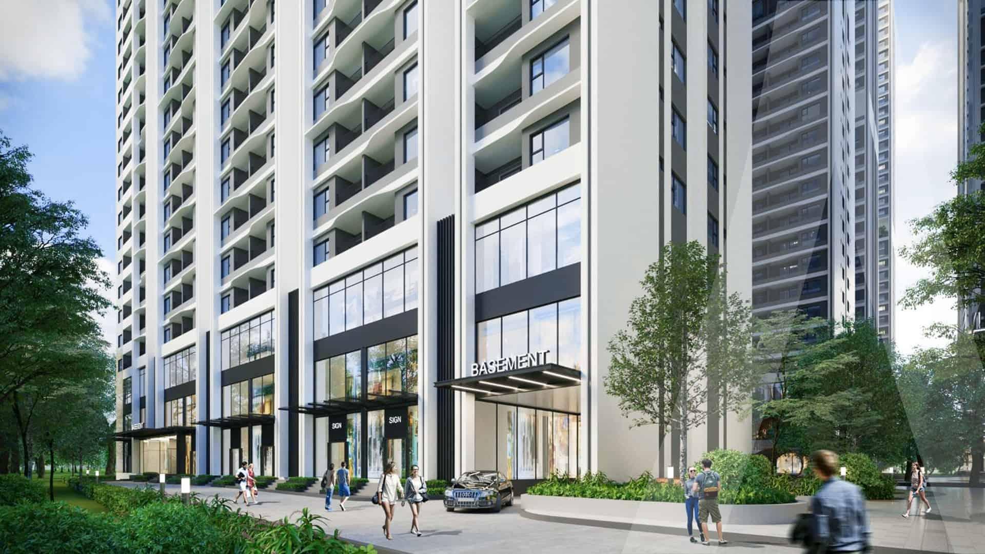 Astral City thiết kế định hình căn hộ cao cấp