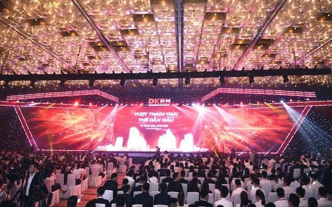 Event hội tụ hơn 3000 chuyên viên tư vấn – Tập đoàn Danh Khôi tổ chức