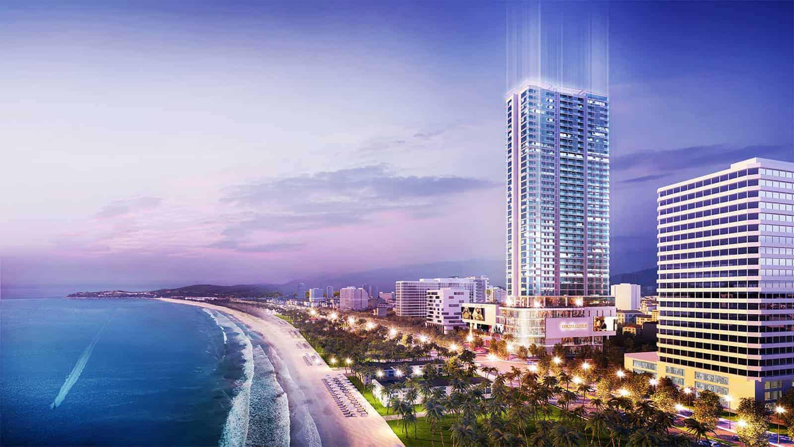 Thị trường Nha Trang: The Aston viên kim cương bên vịnh biển