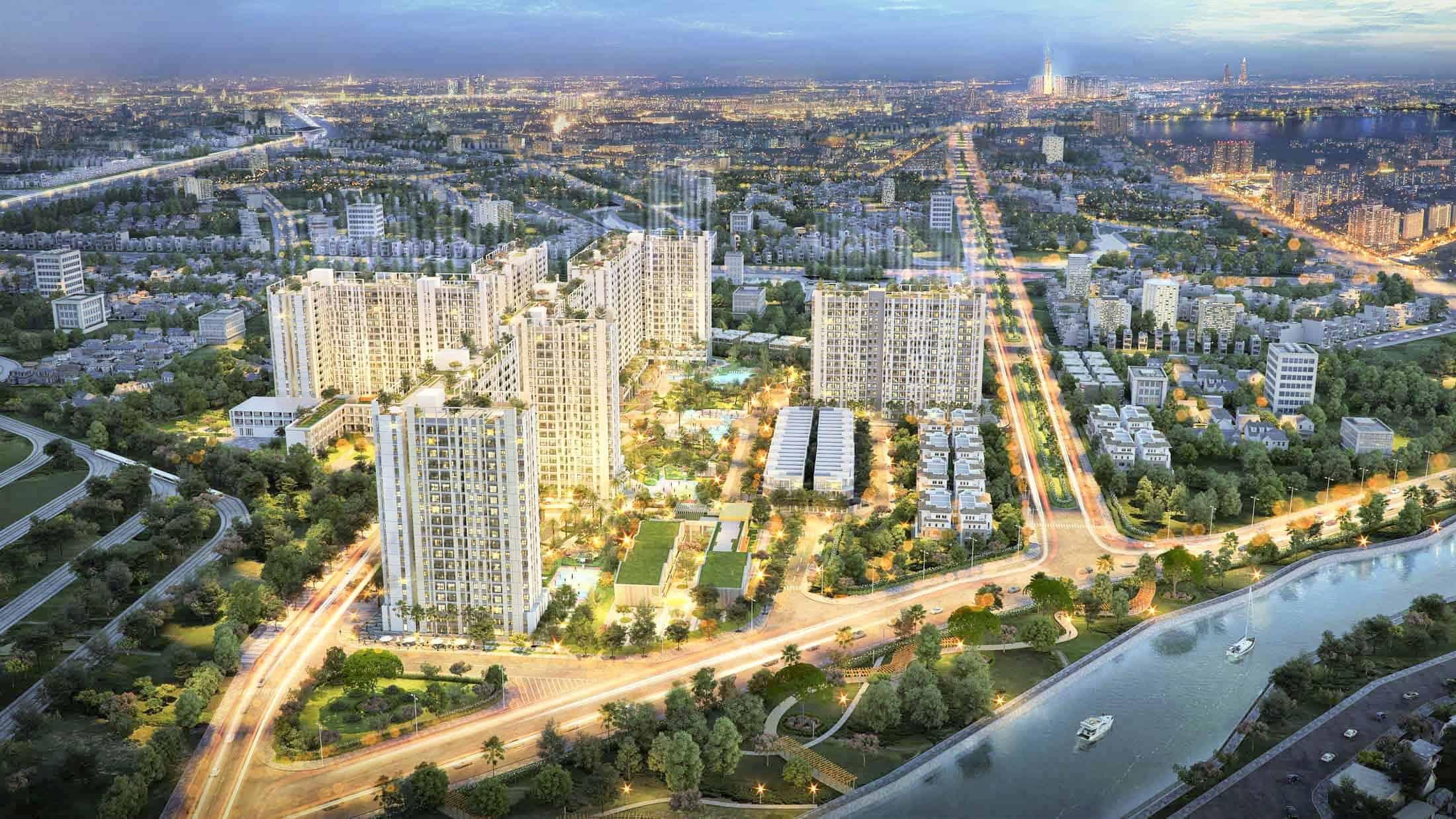 Căn hộ Astral city Thuận An Bình Dương tiếp tục đà tăng trưởng