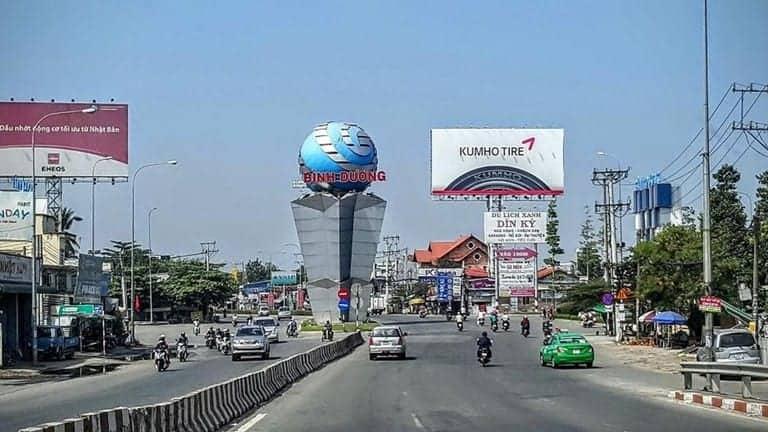 Công bố quy hoạch trục quốc lộ 13 – Đại lộ kinh tế, tài chính của Thuận An Bình Dương
