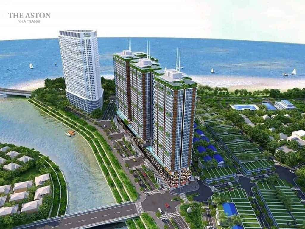 The Aston Luxury Residence: Kiến trúc mang cảm hứng sóng của biển