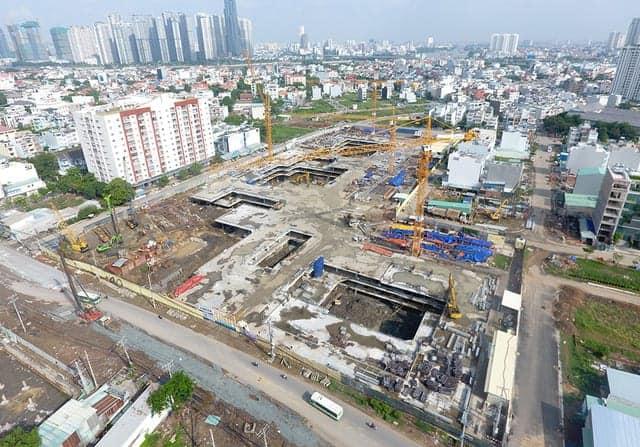 """""""Bỏ"""" Thành phố Hồ Chí Minh về vùng ven của doanh nghiệp địa ốc"""